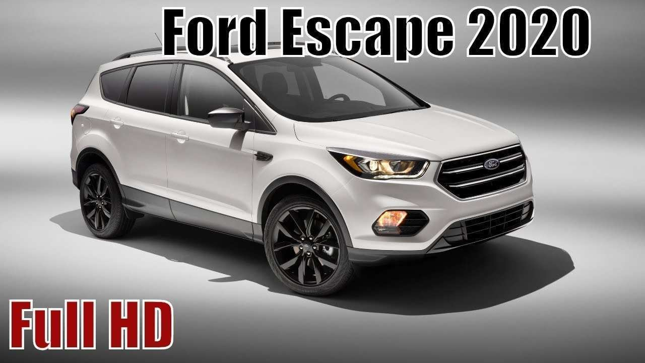 85 Great 2020 Ford Escape Performance and New Engine for 2020 Ford Escape