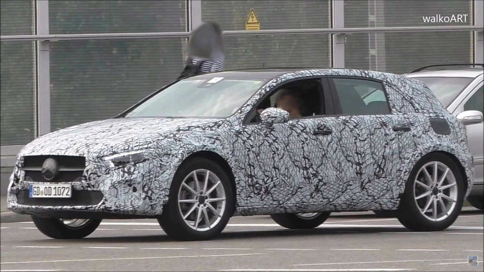 86 All New Mercedes Hatchback 2020 Spy Shoot for Mercedes Hatchback 2020