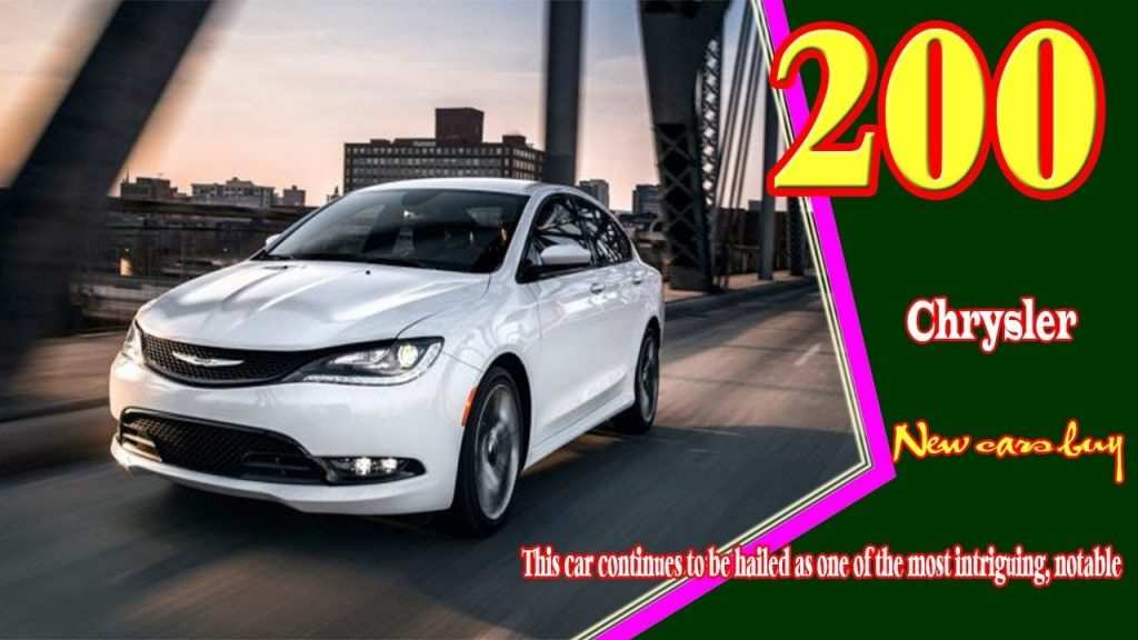 86 Great 2020 Chrysler 200 Convertible Style with 2020 Chrysler 200 Convertible