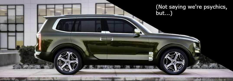 87 Concept of Kia 2020 Telluride Redesign and Concept with Kia 2020 Telluride
