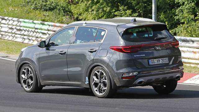 87 Gallery of 2020 KIA SportageSpy Shots Configurations for 2020 KIA SportageSpy Shots