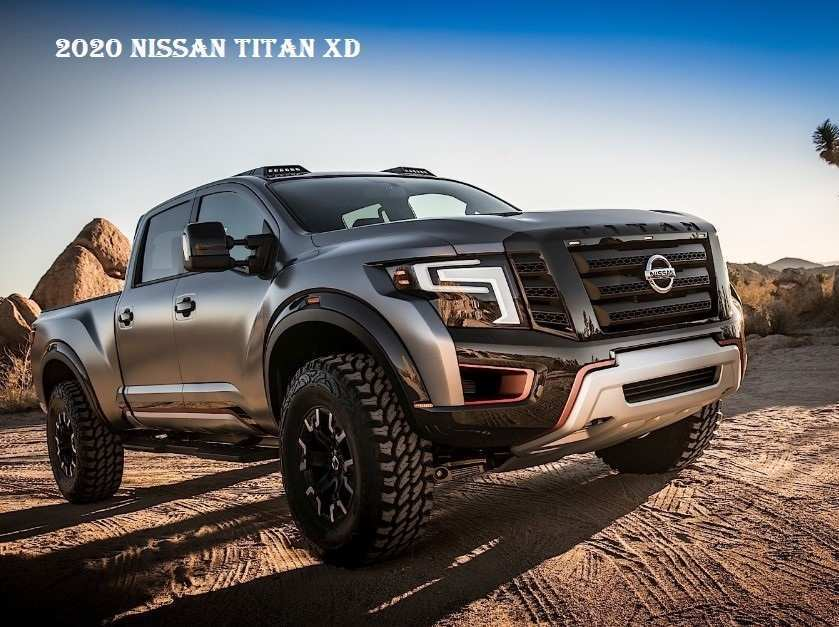 87 New 2020 Nissan Titan New Concept New Review with 2020 Nissan Titan New Concept