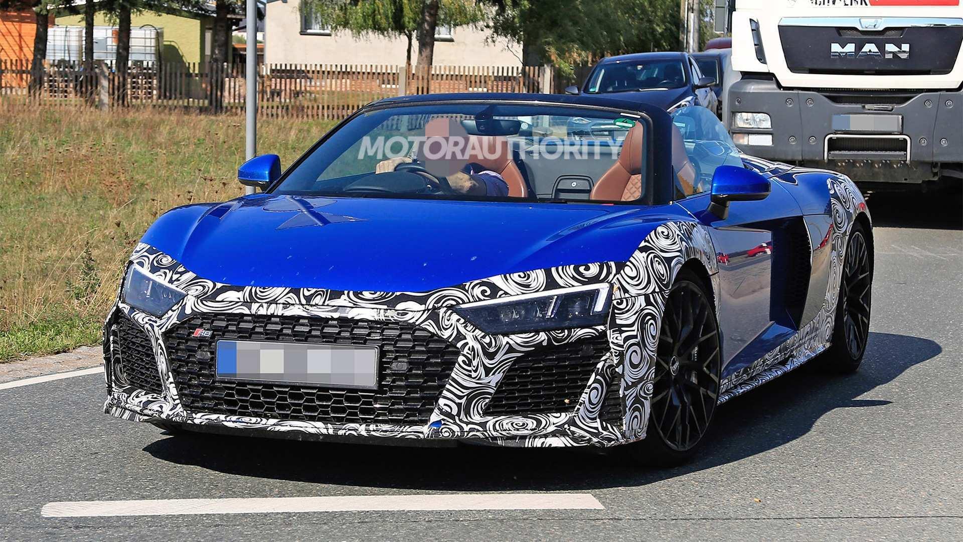 88 All New 2020 Audi R8 V10 Spyder Speed Test with 2020 Audi R8 V10 Spyder