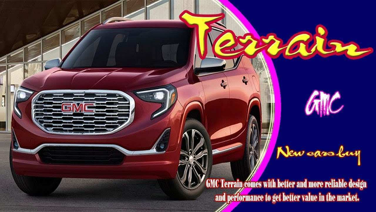 88 Concept of 2020 GMC Terrain Release with 2020 GMC Terrain