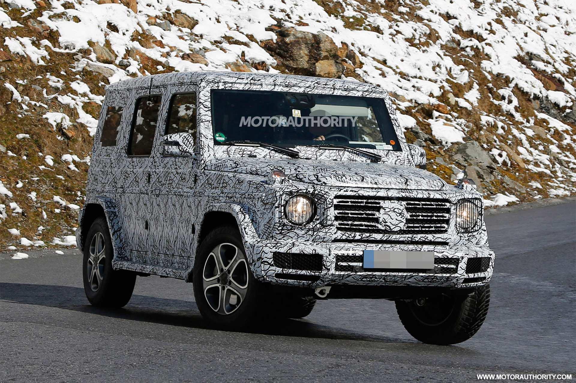 88 Concept of 2020 Mercedes G Wagon Exterior Exterior and Interior for 2020 Mercedes G Wagon Exterior