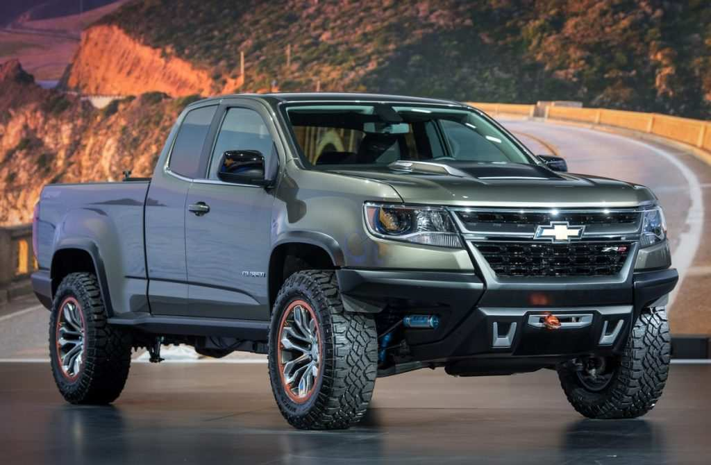 88 Gallery of 2020 Chevrolet Colorado Z72 Exterior and Interior with 2020 Chevrolet Colorado Z72