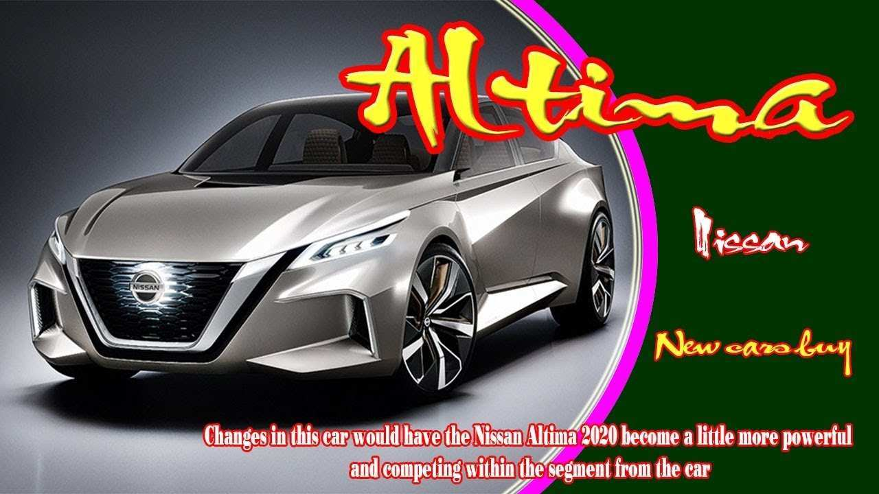 88 The 2020 Nissan Altima Pricing with 2020 Nissan Altima