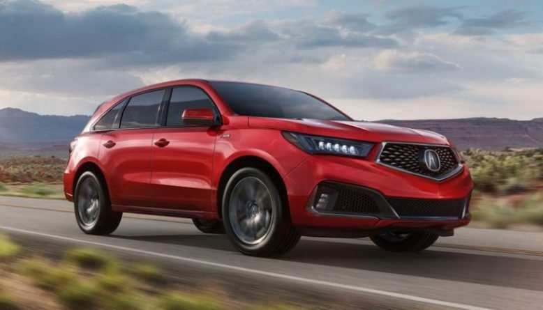 89 Great 2020 Acura MDX Hybrid Redesign by 2020 Acura MDX Hybrid
