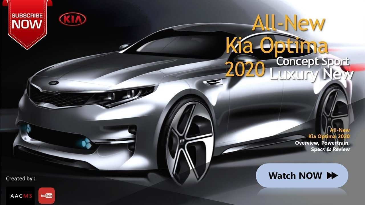 89 Great Kia Optima 2020 New Concept First Drive for Kia Optima 2020 New Concept