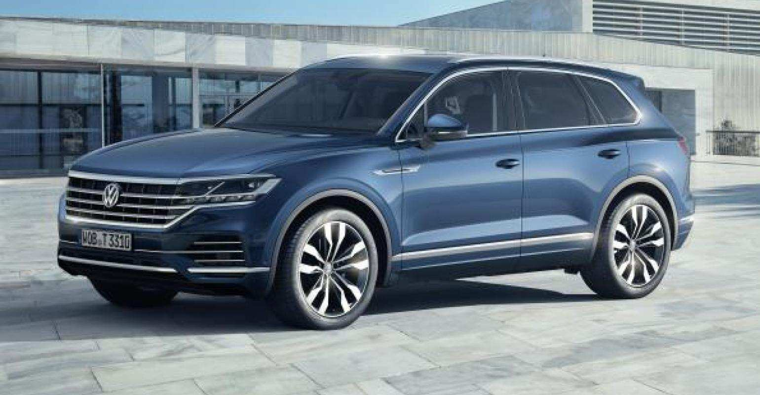 89 Great Volkswagen 2020 Touareg Exterior New Review for Volkswagen 2020 Touareg Exterior