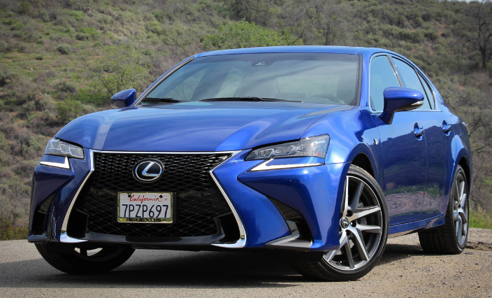 89 The 2020 Lexus GS F Exterior with 2020 Lexus GS F
