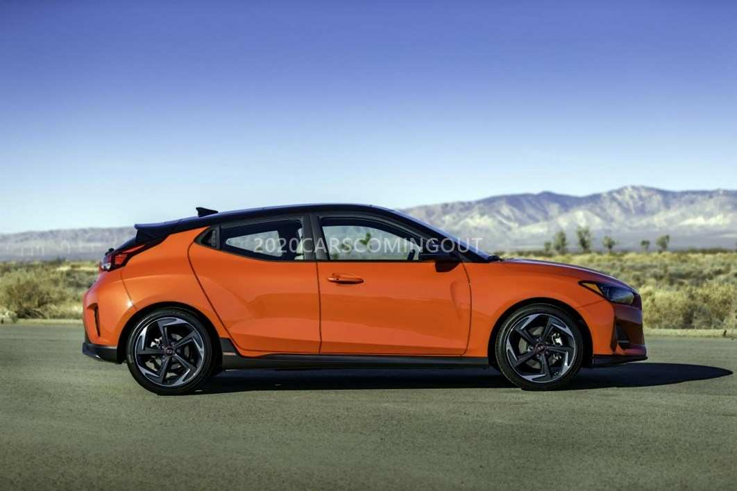 90 The 2020 Hyundai Veloster Turbo Redesign and Concept by 2020 Hyundai Veloster Turbo
