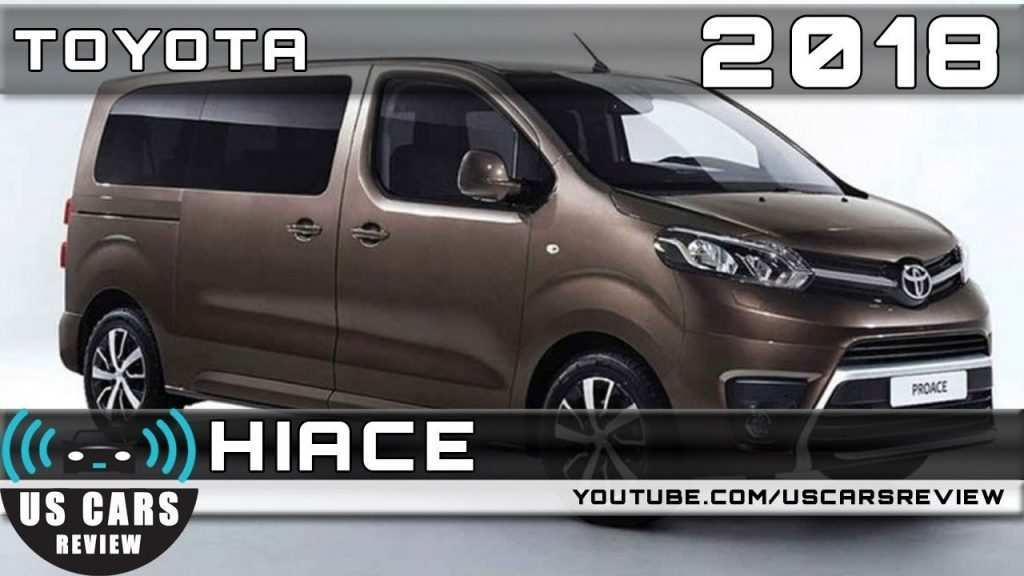 90 The 2020 Toyota Hiace 2018 Photos with 2020 Toyota Hiace 2018