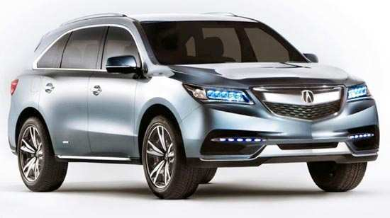 91 Concept of 2020 Acura MDX Hybrid Review by 2020 Acura MDX Hybrid