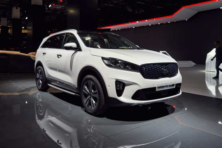 91 Concept of 2020 Kia Sorento White Exterior for 2020 Kia Sorento White