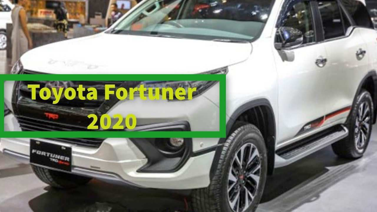91 New 2020 Toyota Fortuner Release Date with 2020 Toyota Fortuner