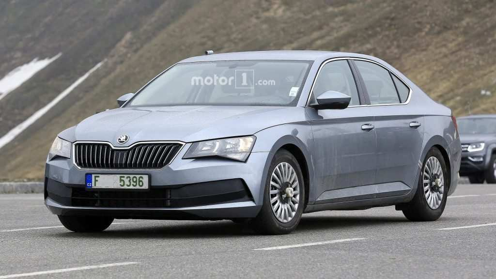 91 New Spy Shots 2020 Skoda Superb Spy Shoot by Spy Shots 2020 Skoda Superb