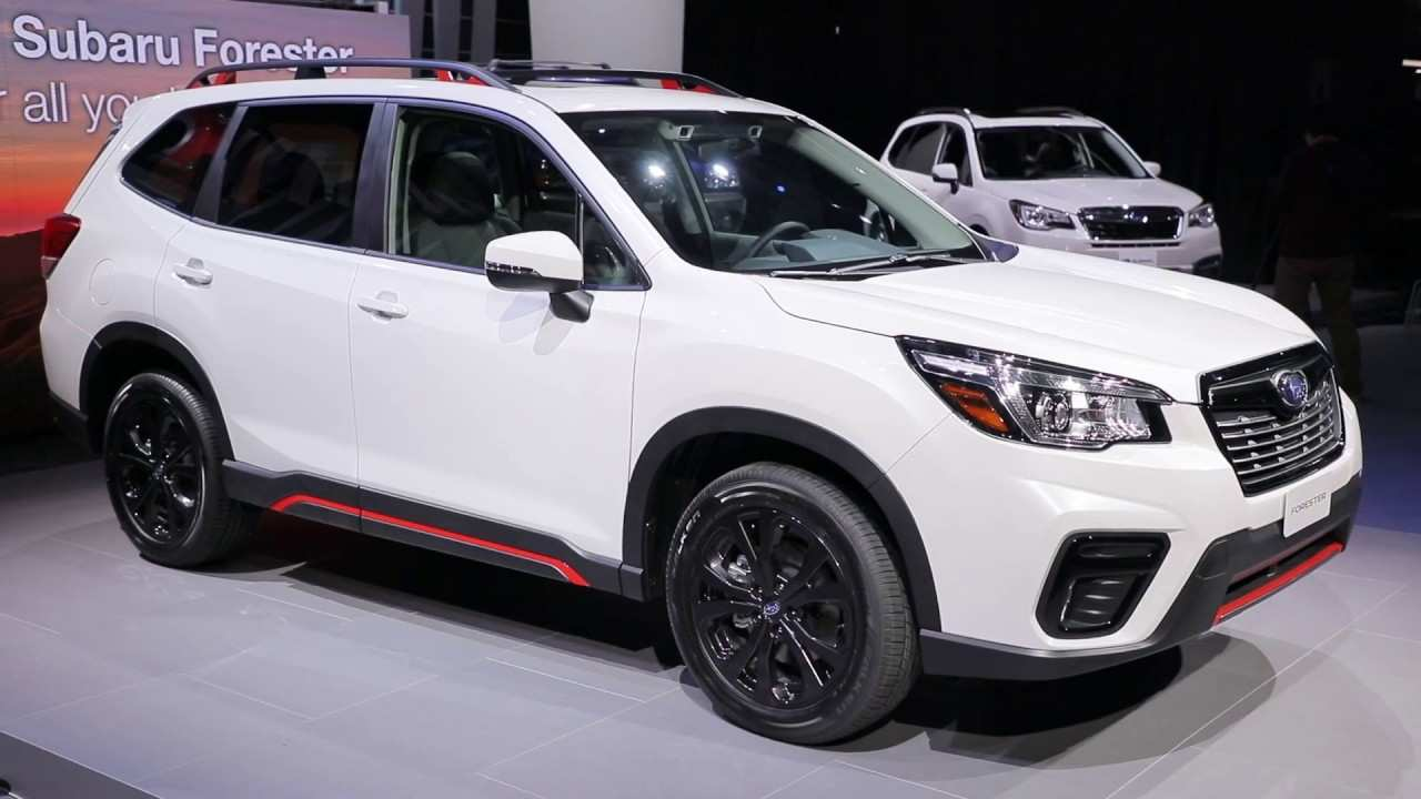 91 The 2020 Subaru Forester Unveiling Spesification with 2020 Subaru Forester Unveiling