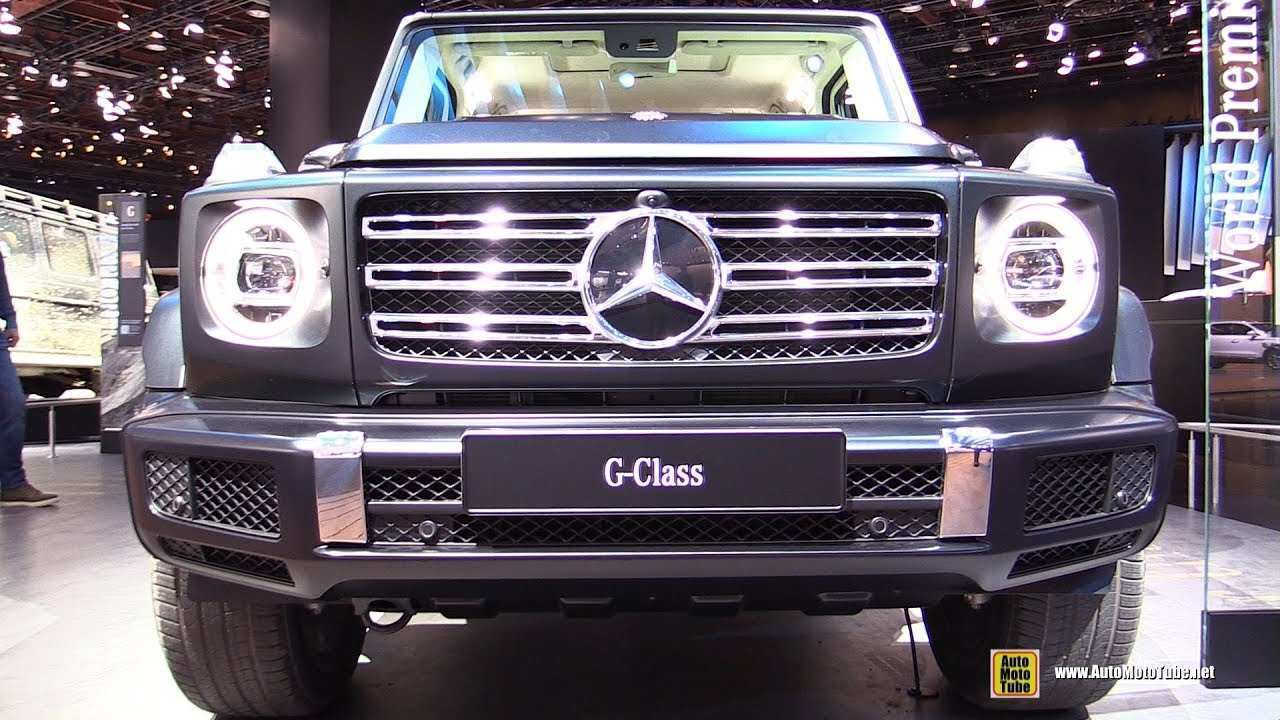 92 New 2020 Mercedes G Class Exterior Ratings with 2020 Mercedes G Class Exterior