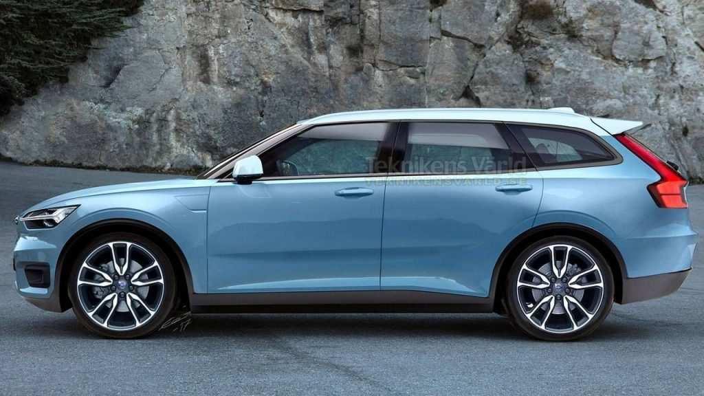 93 All New 2020 Volvo V90 2020 Spy Shoot for 2020 Volvo V90 2020