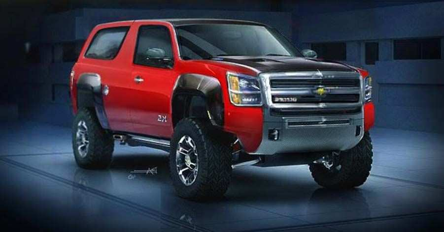 93 Gallery of 2020 Chevy Blazer K 5 Redesign for 2020 Chevy Blazer K 5