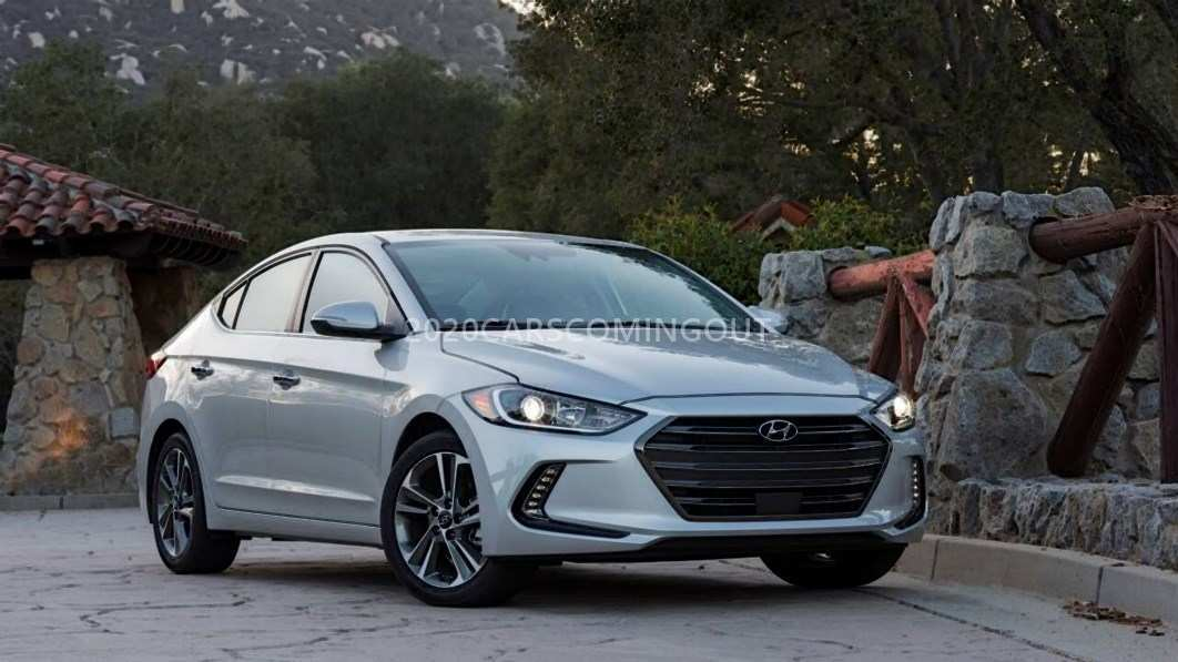 93 The 2020 Hyundai Elantra Overview for 2020 Hyundai Elantra