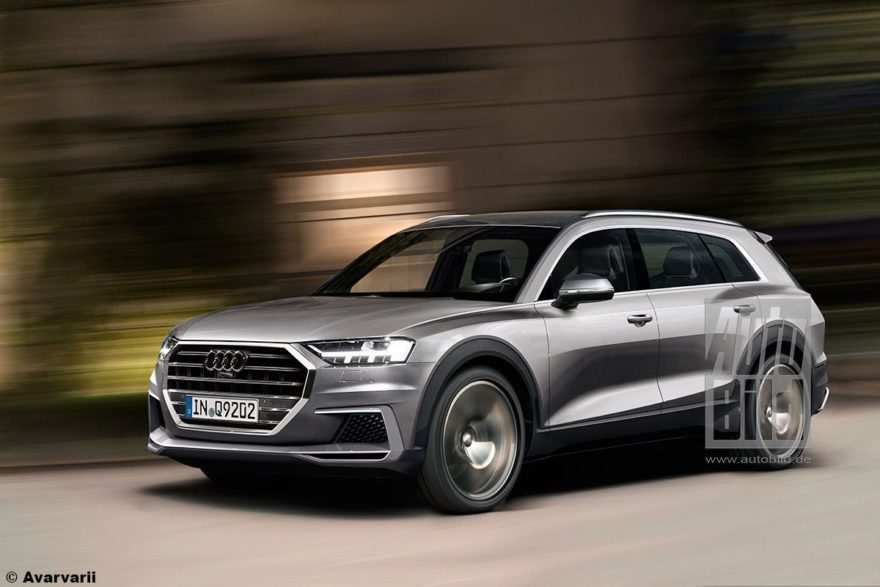 94 All New 2020 Audi Q7 History by 2020 Audi Q7