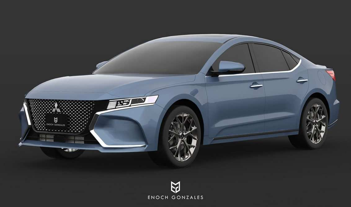 94 Concept of 2020 Mitsubishi Galant Model for 2020 Mitsubishi Galant