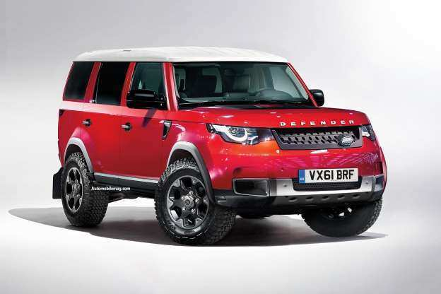 94 Gallery of 2020 Land Rover Discovery Exterior by 2020 Land Rover Discovery
