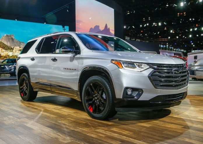 94 New 2020 Chevy Traverse Exterior by 2020 Chevy Traverse