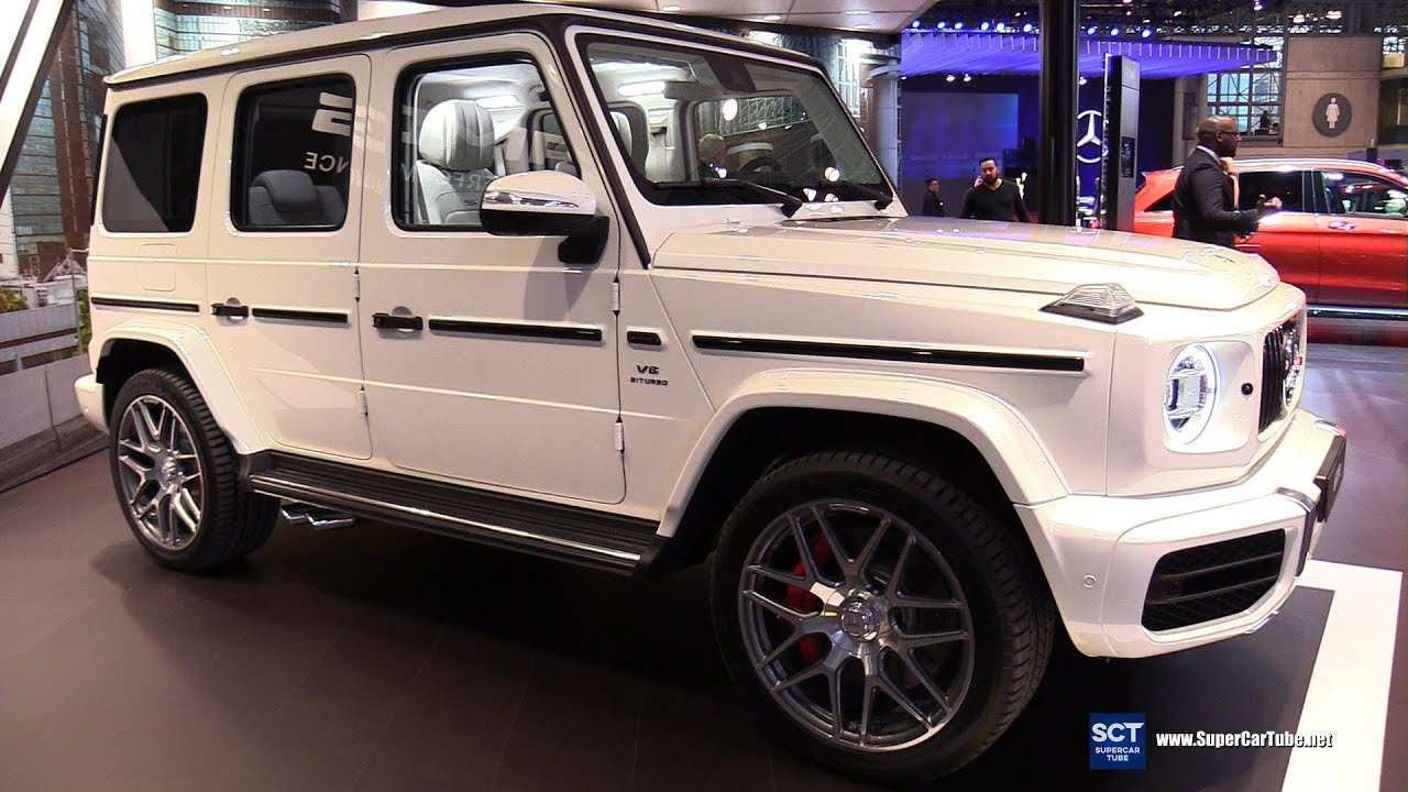 95 All New Mercedes G63 2020 Exterior Specs and Review with Mercedes G63 2020 Exterior