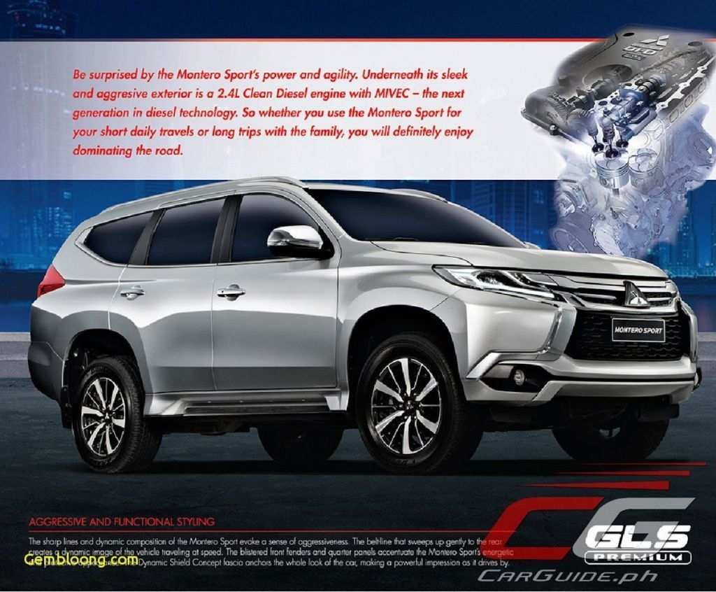 96 The 2020 Mitsubishi Montero Sport Philippines Exterior with 2020 Mitsubishi Montero Sport Philippines