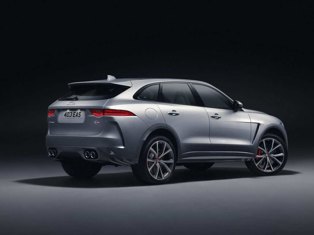 96 The Jaguar F Pace 2020 New Concept Exterior by Jaguar F Pace 2020 New Concept
