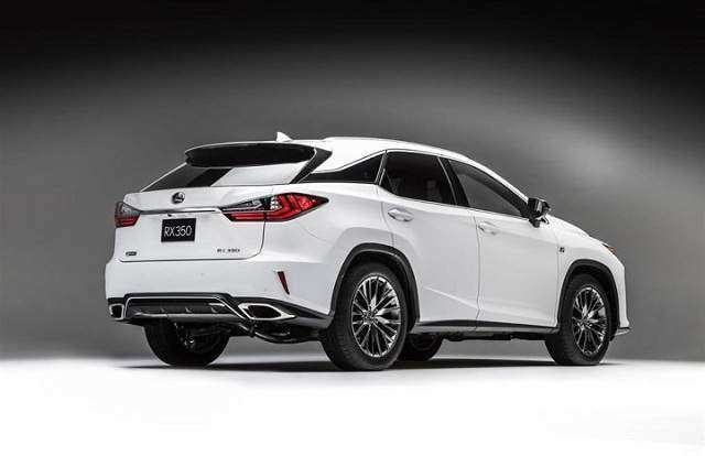 97 All New 2020 Lexus RX 350 Exterior with 2020 Lexus RX 350