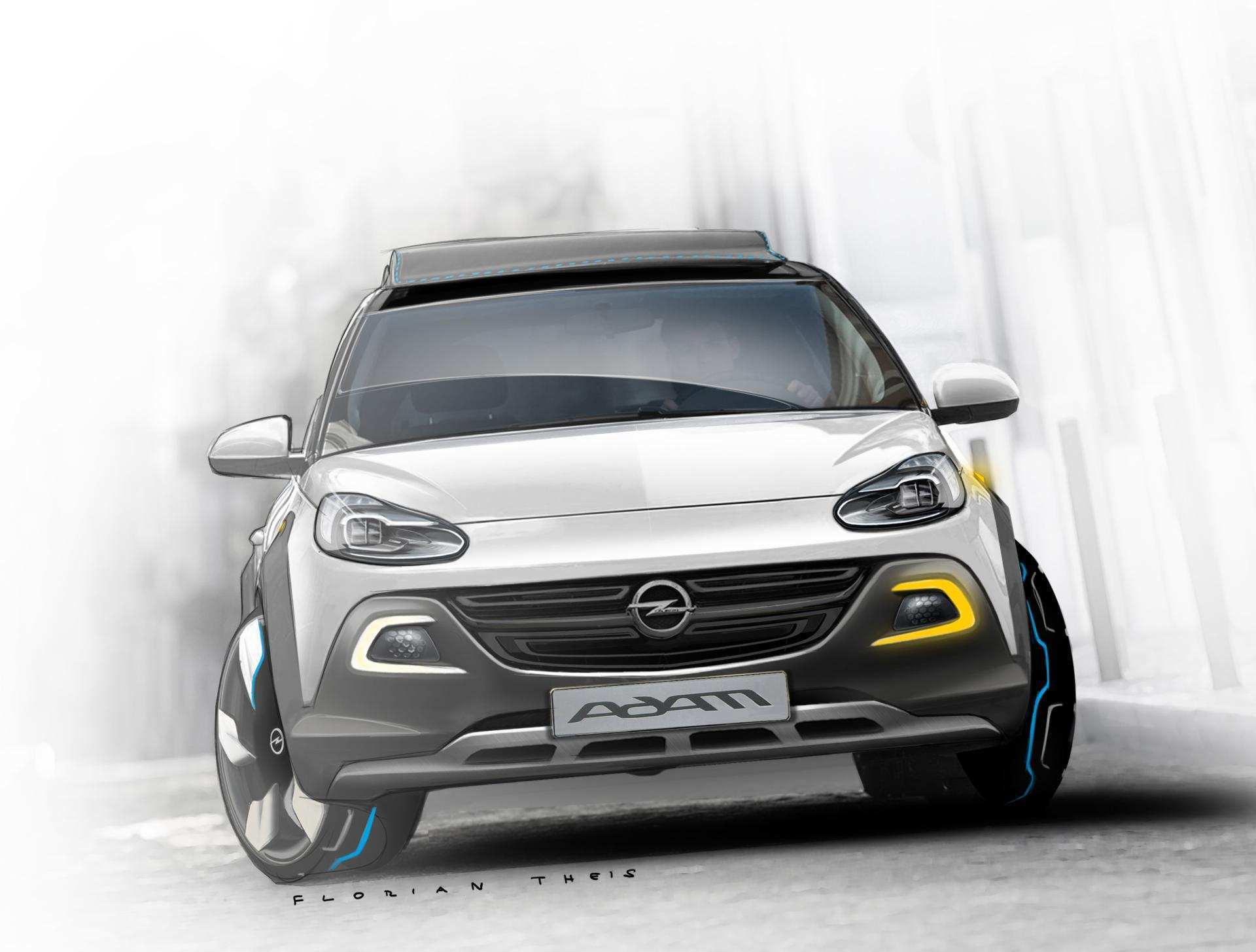 97 The 2020 Opel Adam Rocks Picture with 2020 Opel Adam Rocks