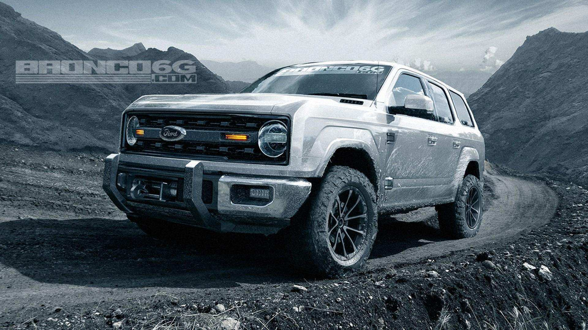 99 All New 2020 Ford Bronco Exterior with 2020 Ford Bronco