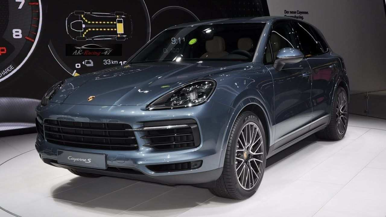 99 All New 2020 Porsche Cayenne Turbo S Redesign and Concept for 2020 Porsche Cayenne Turbo S