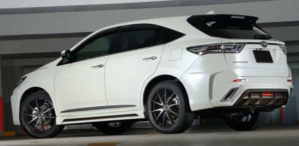 99 All New Toyota Harrier 2020 Exterior by Toyota Harrier 2020