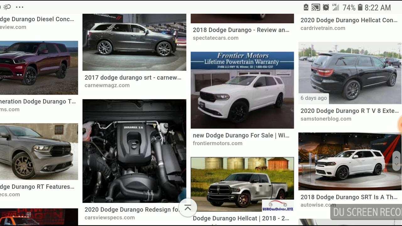 99 New 2020 Dodge Durango Diesel Srt8 Reviews by 2020 Dodge Durango Diesel Srt8