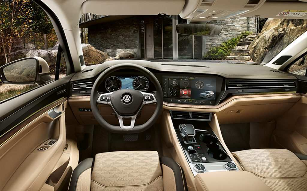 11 Best Review 2019 Volkswagen Touareg Interior Overview by 2019 Volkswagen Touareg Interior