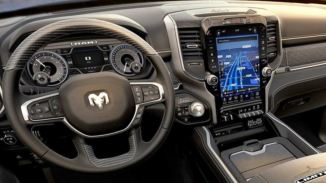 12 All New 2019 Dodge Laramie Interior Release Date by 2019 Dodge Laramie Interior