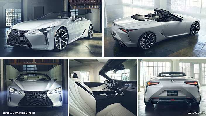 12 All New 2019 Lexus Convertible Concept for 2019 Lexus Convertible
