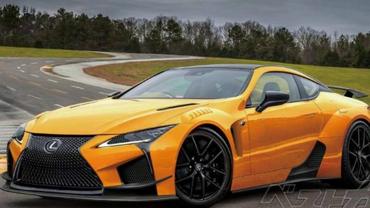 12 Concept of 2019 Lexus Lc F Concept for 2019 Lexus Lc F
