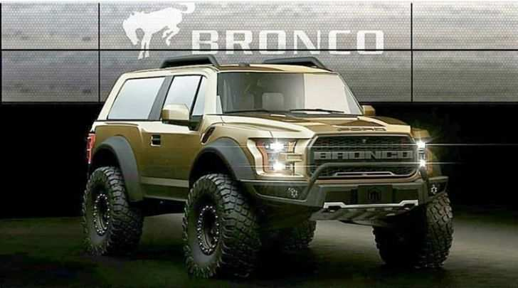 12 Concept of 2020 Ford Bronco 6G Concept for 2020 Ford Bronco 6G