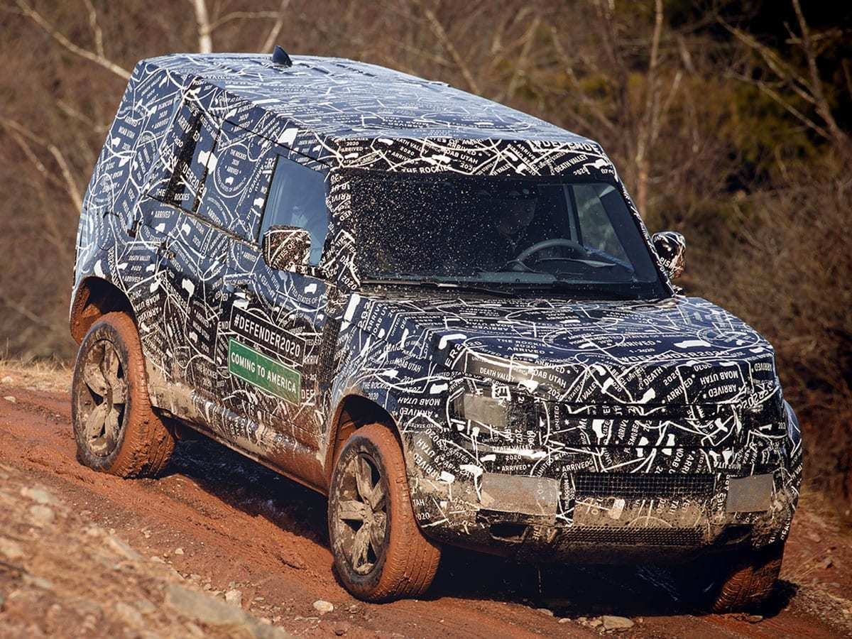 12 Concept of 2020 Land Rover Exterior by 2020 Land Rover
