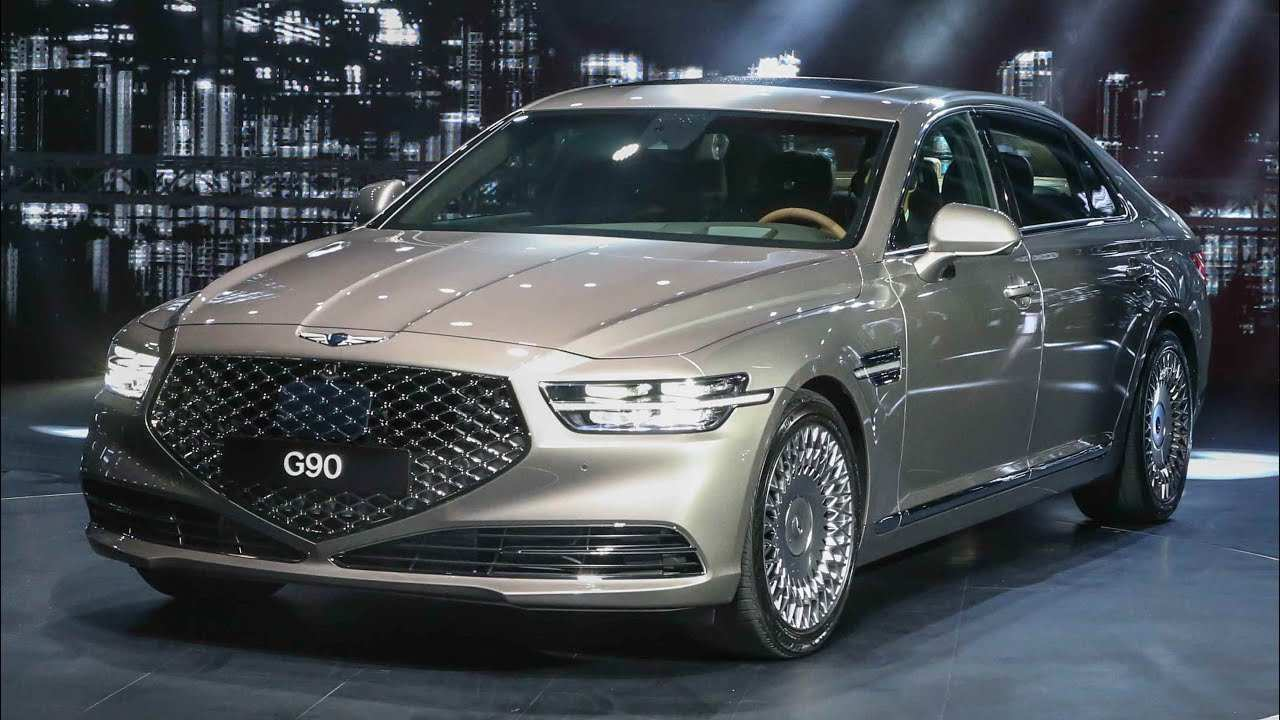 12 Great 2019 Genesis G90 Redesign with 2019 Genesis G90