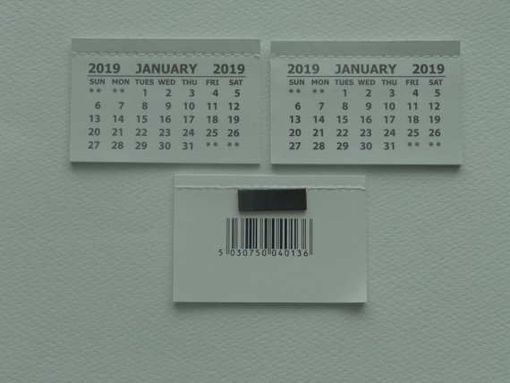 12 New 2019 Mini Tear Off Calendar Images with 2019 Mini Tear Off Calendar