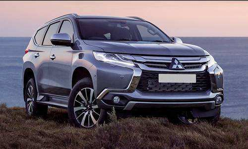 12 The 2019 Mitsubishi Shogun Spy Shoot by 2019 Mitsubishi Shogun