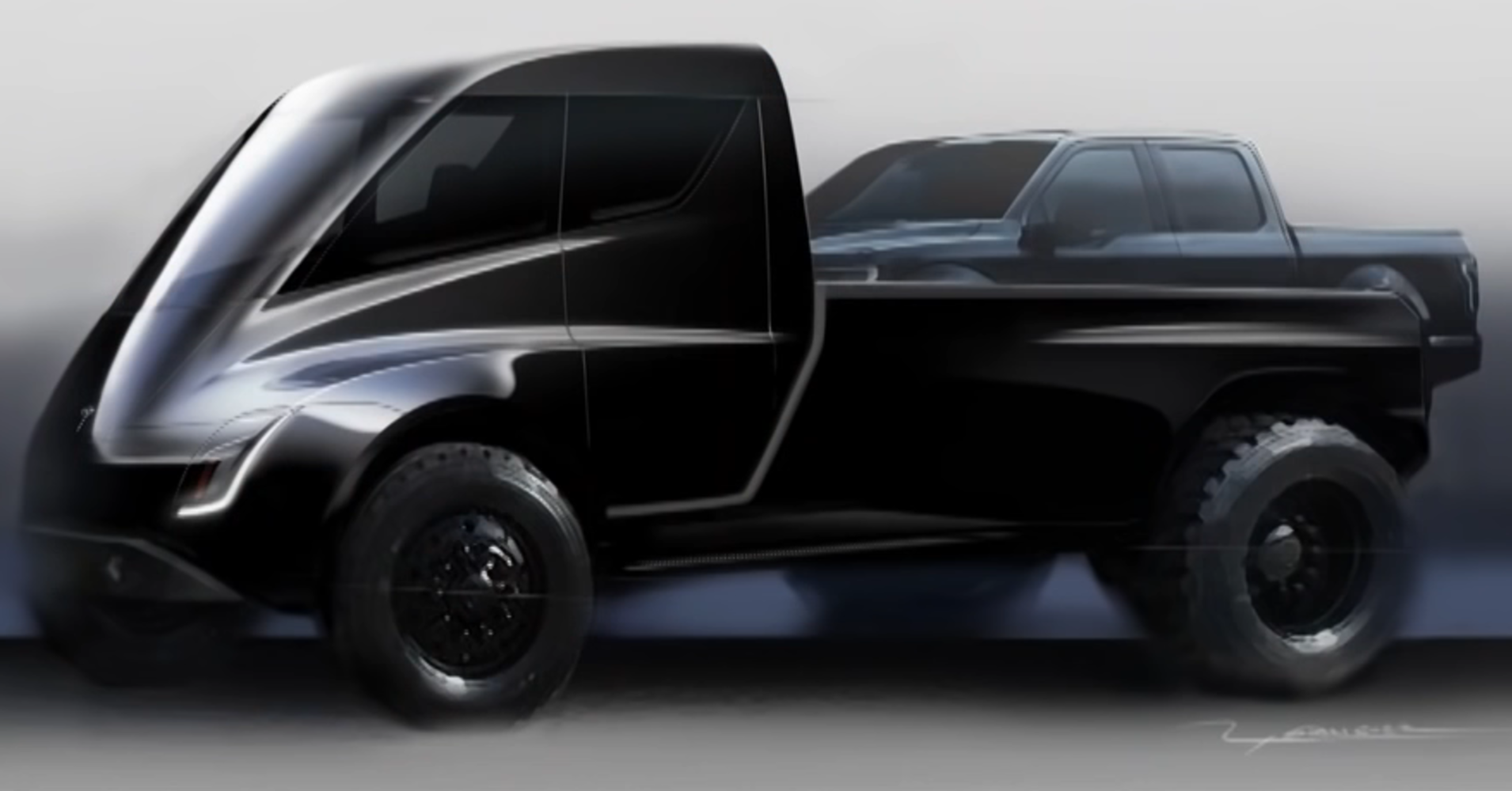 14 Gallery of 2019 Tesla Truck Photos for 2019 Tesla Truck