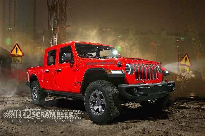 14 New 2020 Jeep Wrangler Pickup Truck Images for 2020 Jeep Wrangler Pickup Truck